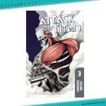 Attack on Titan Manga Volume 3