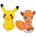pikachu and vulpix